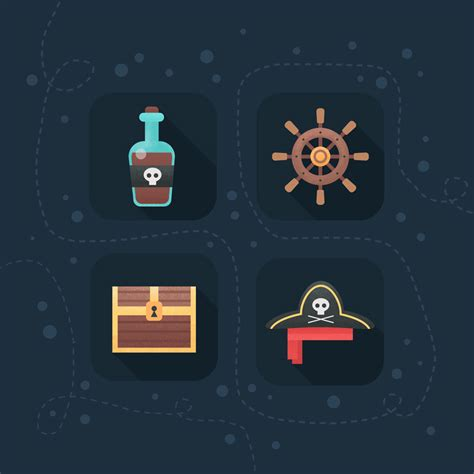 tutorial flat design photoshop indonesia how to create flat pirate icons in adobe photoshop