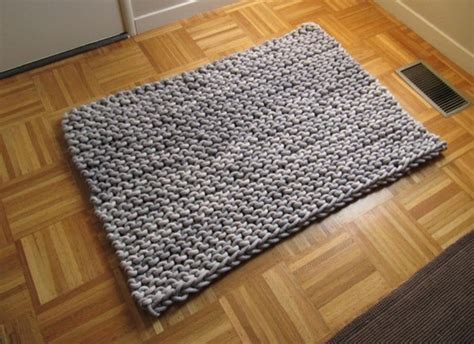 knit a rug knit rope rug by knits eclectic rugs by etsy