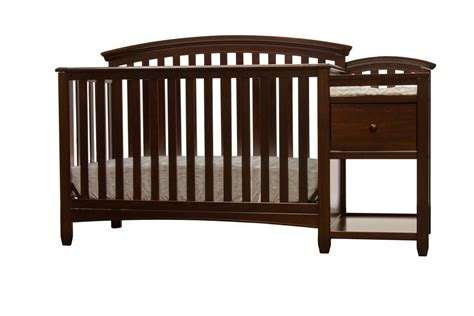 Baby Crib Attached To Bed Baby Crib With Changing Table Attached Baby Crib Design Inspiration