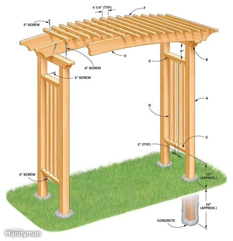 arbor trellis plans 89 best images about arbor plans on pinterest gardens