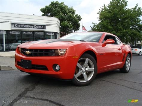 2010 inferno orange metallic chevrolet camaro lt coupe 52687801 gtcarlot car color