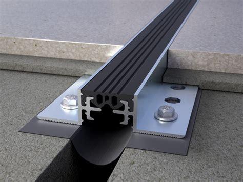 giunto dilatazione pavimento giunto di dilatazione in alluminio novojunta pro