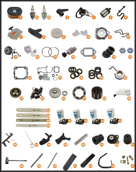 stihl ms 440 parts diagram stihl 046 parts stihl ms460 parts stihl chainsaw parts