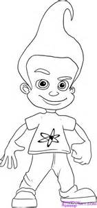 coloring book review genius jimmy neutron coloring pages jimmy neutron boy genius