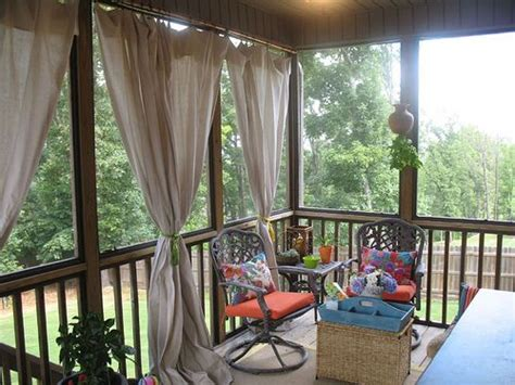 outdoor screen curtains 25 best ideas about screened porch curtains on pinterest