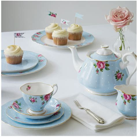 teapot ls for sale polka blue country roses 3pc teapot sugar and creamer