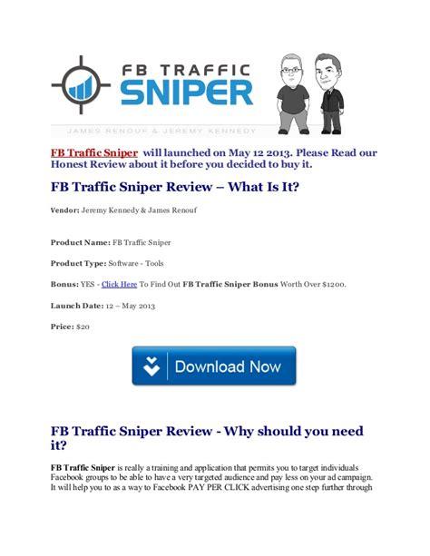 fb sniper how to use fb traffic sniper