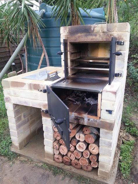 Barbecue Bois 2494 by New Bbq Smoker Oven Build Jardin Foyer
