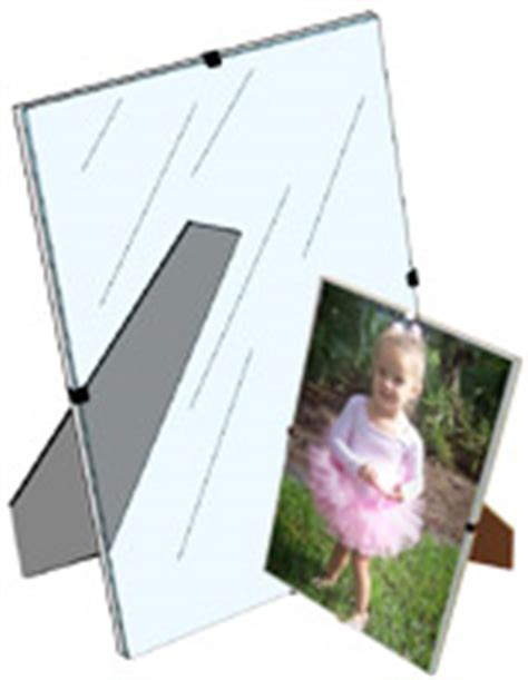 frameless 5 x 7 clip picture frame tempered glass glass clip photo frames frameless picture holders