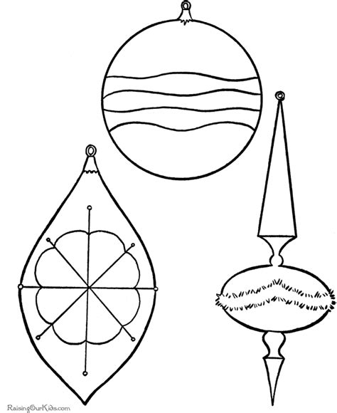 coloring page of christmas ornament blank ornaments search results calendar 2015