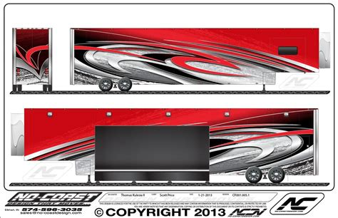 rv graphics design motorsports support trailer welcome