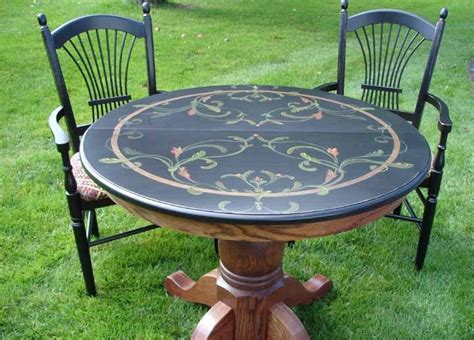 hand painted french dining table with leaves for sale at 72 best painted refinished furniture images on pinterest
