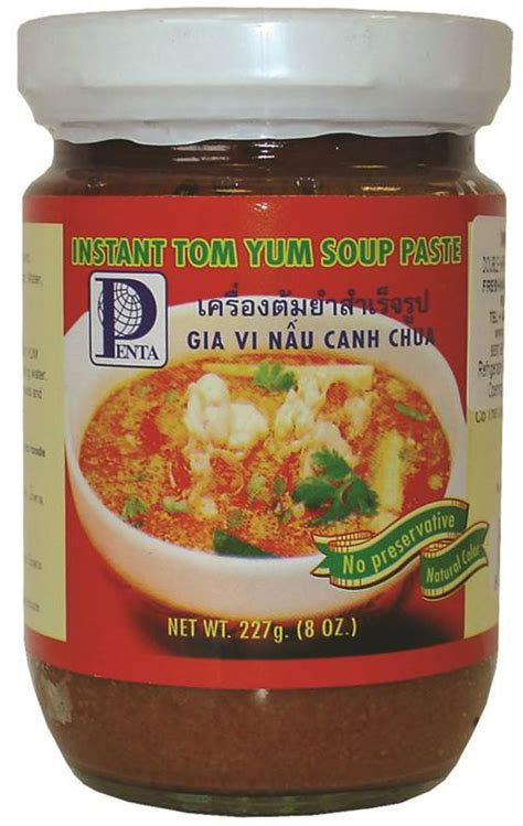 Cuci Gudang Thai Boy Tom Yum Soup Paste 500g Dianjurkan Via Gojek penta thai instant tom yum soup paste