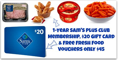 Livingsocial Gift Card - livingsocial one year membership and 20 gift card sams club ask home design