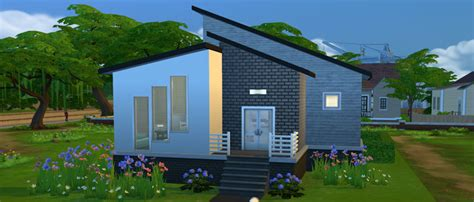 2 Bedroom Tiny House Plans by How To Build A Starter Home In The Sims 4 Sims Online