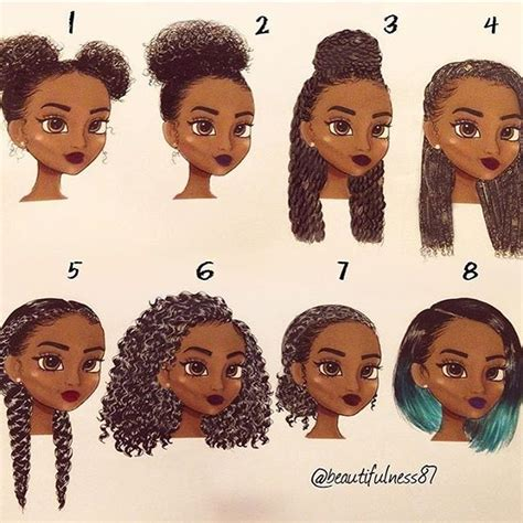 simple and versatile african hair style top 100 easy natural hairstyles photos beautiful art by