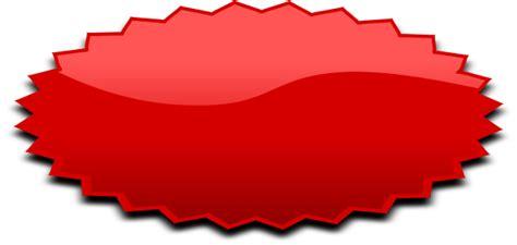 Oval burst oval red blanks shapes oval burst burst oval red