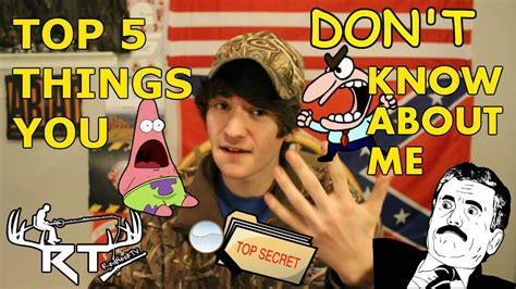 5 Things You Dont About Me by Top 5 Things You Don T About Me