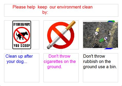 from our classroom keep our environment clean