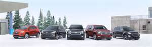 chevrolet crossover and suv lineup