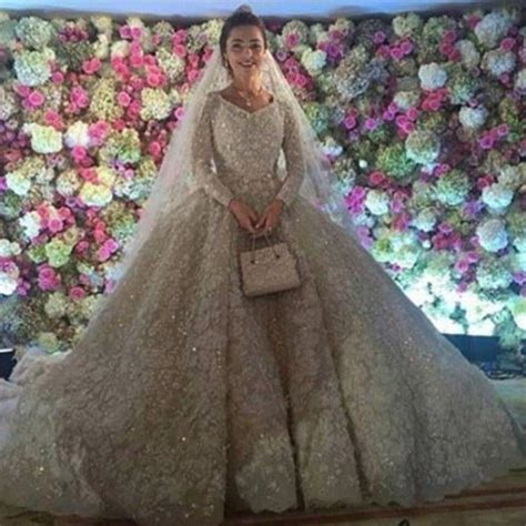 Detisan Insatn Madina Blush couture wedding gowns pictures prepare to swoon the world s most expensive wedding