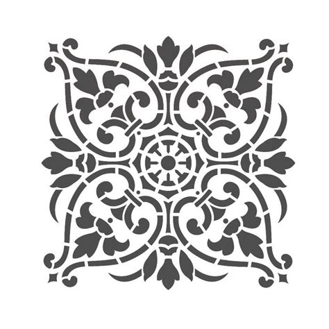 wall stencil template 129 best stencil images on stencil painted