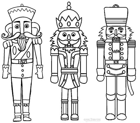 nutcracker template printable nutcracker coloring pages for cool2bkids
