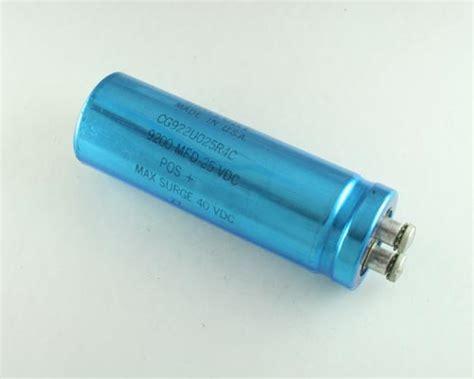 laptop processor capacitor new 2 pcs 9200uf 25v mallory large can capacitors computer grade 9200 mfd 25 v ebay