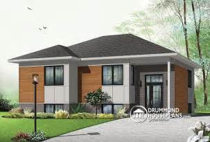 modern bungalow house plans house plan of the week quot affordable contemporary bungalow quot drummond house plans blog