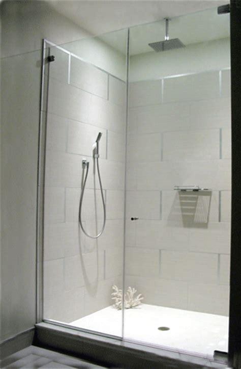 Open Shower Bathroom Design heavy glass showers glenside glass