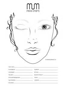 makeup charts template free printable charts for makeup makeup vidalondon