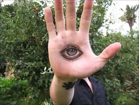 tattoo of eye in palm of hand 8 eye tattoos on hands