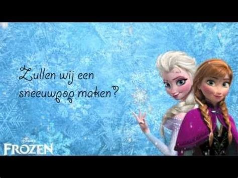 film frozen vlaams frozen do you want to build a snowman lyrics