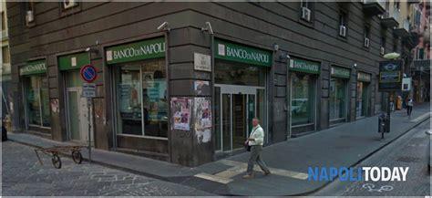 Www Banco Napoli by Triplo Colpo Nella Notte Al Banco Di Napoli Sportelli