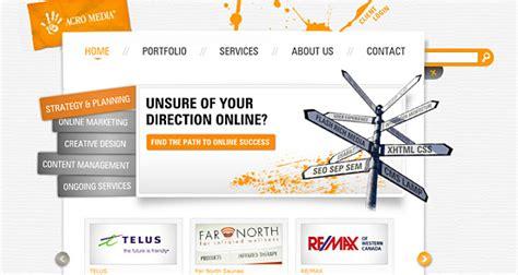 creative web page design creative website design 50 excellent designs for