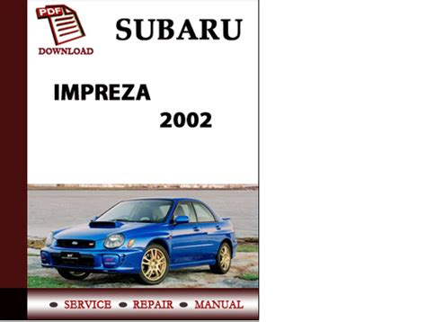 small engine repair manuals free download 2002 subaru legacy head up display subaru impreza sti 2004 workshop service repair manual