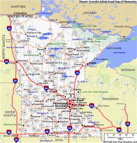 map of mn large map of mn mn road map mn road conditions olga