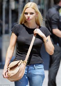 sophie monk lunches with nick fordham and john ibrahim
