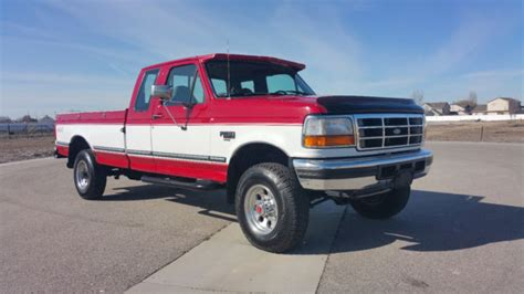 how petrol cars work 1994 ford f350 seat position control ford f 250 extended cab pickup 1994 red and white for sale 1fthx26kxrka65796 1994 ford f250