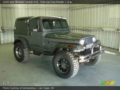 1990 jeep wrangler interior charcoal gray metallic 1990 jeep wrangler laredo 4x4