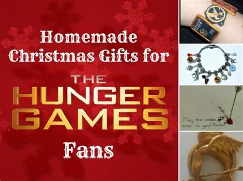 handmade christmas gifts for hunger games fans craftfoxes