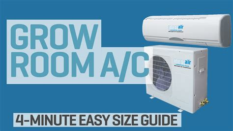 grow room air conditioner what size air conditioner do i need for my grow room