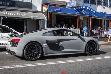 nardo grey r8 nardo grey audi r8 v10 plus anyone it s the only one in
