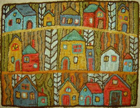 Rug Hook Patterns by Punch Needle Rug Hooking On Rug Hooking Punch