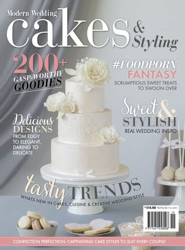 Wedding Cakes Magazine by Modern Wedding Cakes Magazine Subscriptions Usa