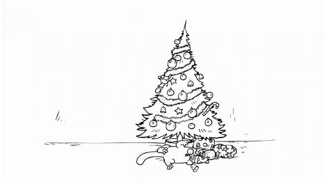 simon s cat santa claws a curious cat discovers