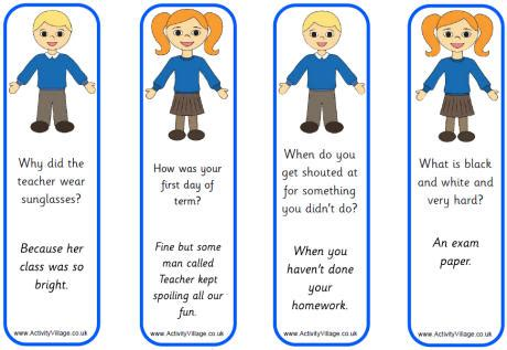 printable bookmarks activity village back to school days others forum