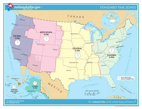 map of usa showing different time zones 2 file us timezones svg