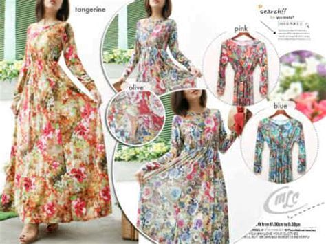 Dress Balotely Katun Davira Maxy 094 value maxy line skirt i l o v e f a s h i o n s s