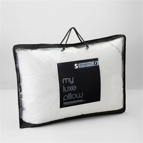 My Luxe Pillow - bloomingdale s quot my luxe quot soft medium density standard